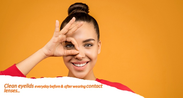 Why eye hygiene is required for contact lens wearers…